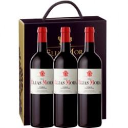 Lote de 3 botellas de Viñas Elías Mora