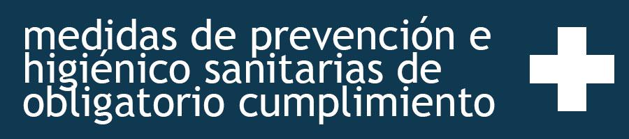 Medidas de prevención e higiénico sanitarias de obligatorio cumplimiento en las visitas a Bodegas Elías Mora