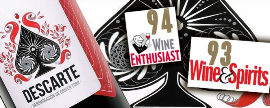 Descarte 2014: 94 points Wine Enthusiast et 93 points Wine & Spirits