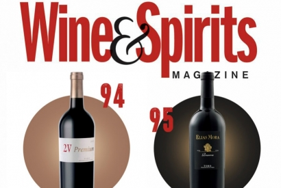 Wine & Spirits: 95 points to Elías Mora Reserva 2010 and 94 to 2V Premium 2012