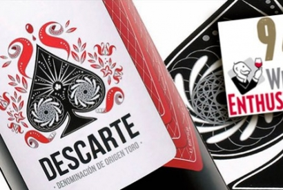 Descarte 2014: 94 Wine Enthusiast points and 93 Wine & Spirits points