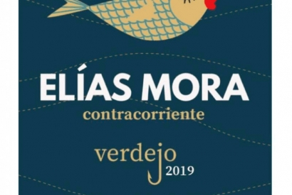 New white wine, verdejo from Rueda: Elías Mora Contracorriente